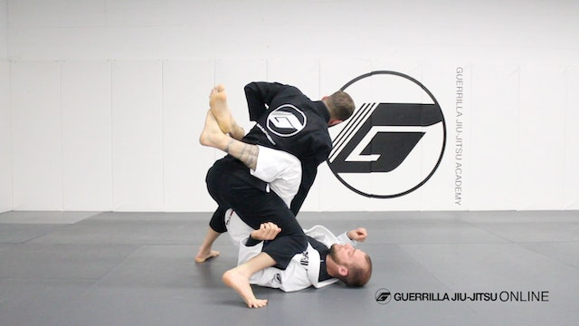 "Counter the Closed Guard Leg Trap Sweep - To ""Billy"" Pass"