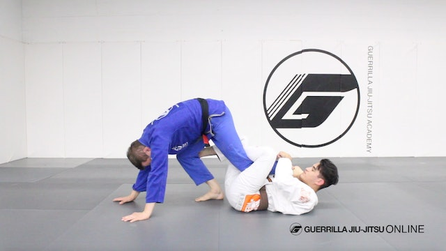 Intro to the Matrix Sweep and Back Take from Reverse De La Riva