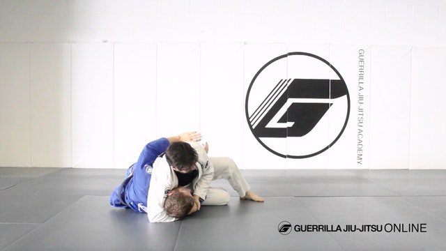 Side Control Escapes - Forcing Headlock with Under Hook Hand Position