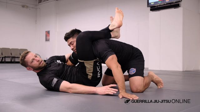 Hip Clamp Half Guard Part 2 - To tria...