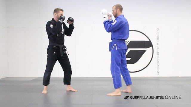 Combative Distance Thread - Part 1 - Jab Drill