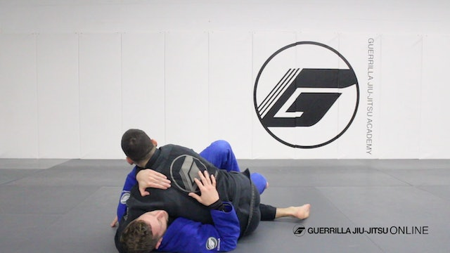 Half Guard - Counter the Right Pass Part 3.5 - Counter Sweep Elbow Over Head