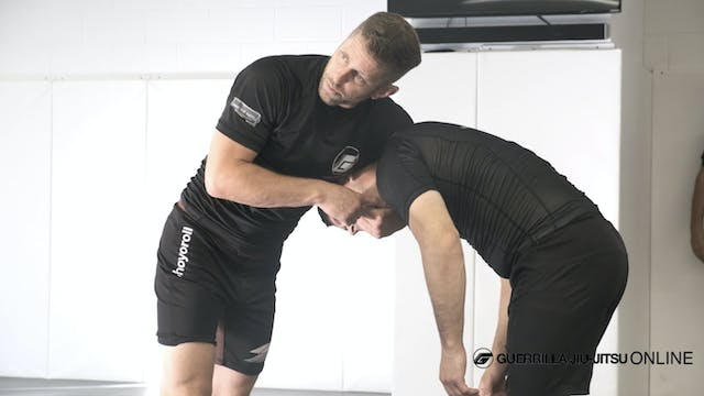 High Elbow Guillotine, Countering The...