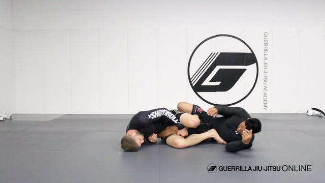 Razor Lock from Single Leg X Guard