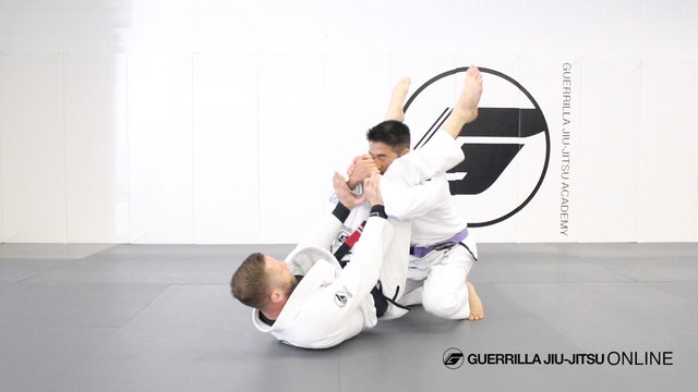 Guard Recovery - Knee Escape from Stack Pass