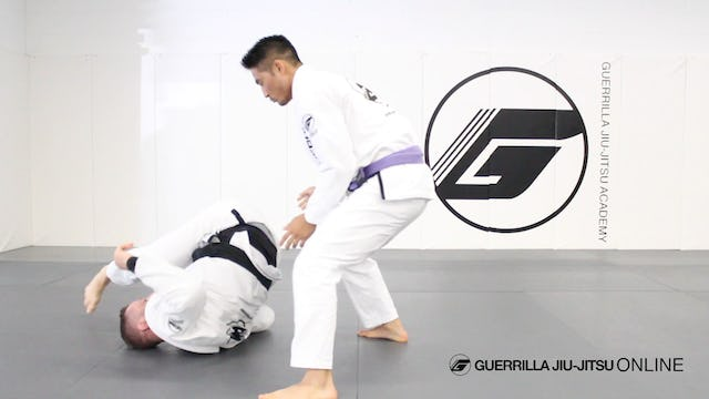 Guard Recovery - Roll Back (Congoa/Gongoa Roll)