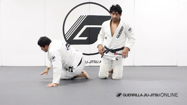 Knee Through the Middle Guard Break Part 1
