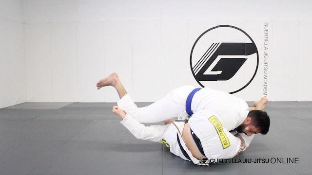 Juji-Gatame from Closed Guard Arm Bar