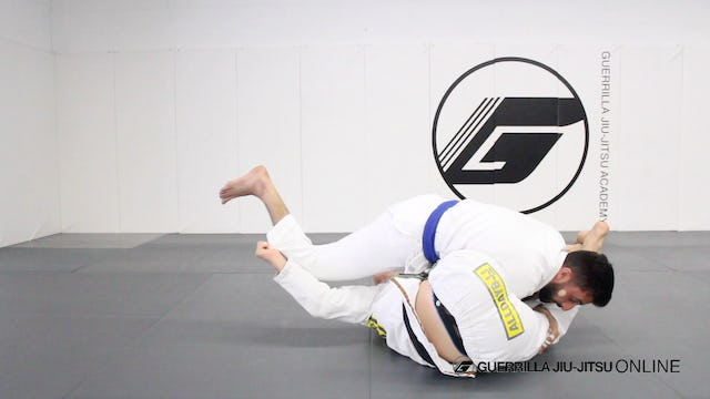 Juji-Gatame from Closed Guard Arm Bar