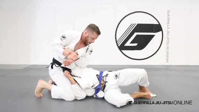 Overhook to Kimura from Side Control