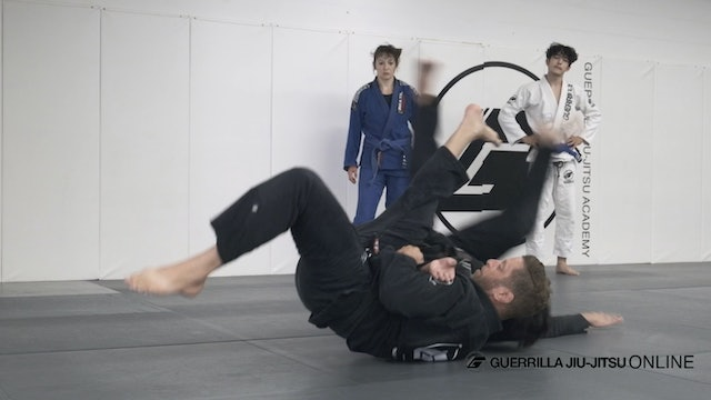 2 on 1 Grip - Sumi Gaeshi (Sacrifice Throw)