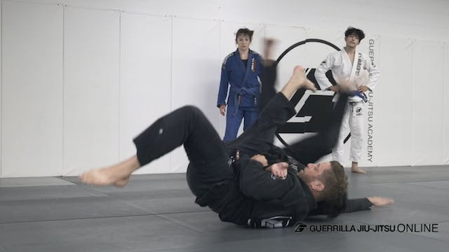 2 on 1 Grip - Sumi Gaeshi (Sacrifice ...