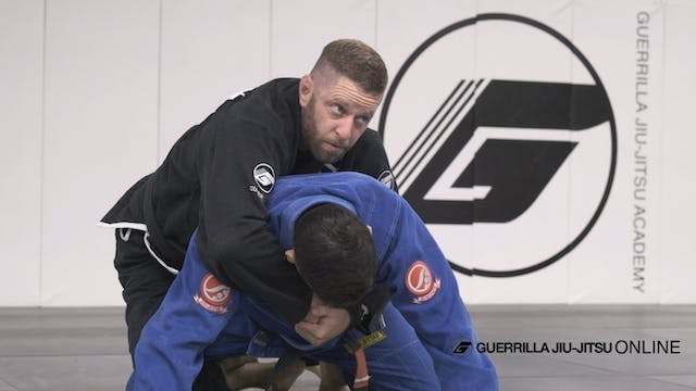 Knee Shield Sweeps With Back Take Option