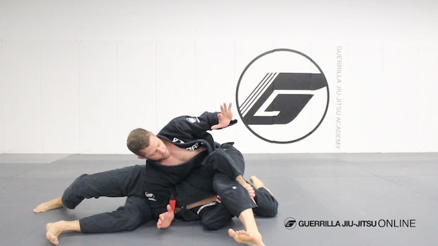 Side Control - Counter Single Leg Recovery to S Mount Armbar