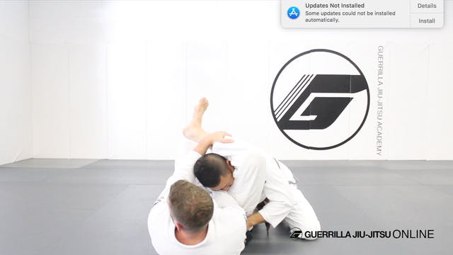 Counter Stack Pass to No Arm Triangle