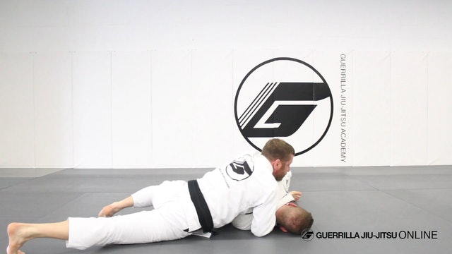 Take the Back from the Leg Drag