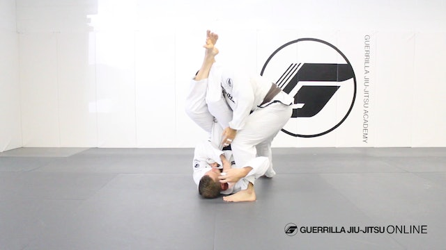 Triangle Choke to Triangle Armlock to Back Take