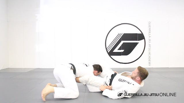 Counter Stack Pass - Spider Guard Shoulder Lock