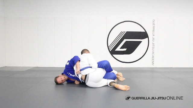 Half Guard - Counter the Right Pass Part 1 - Sweep to Mount