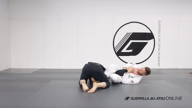 Omoplata to Armbar to the Back Part 1...