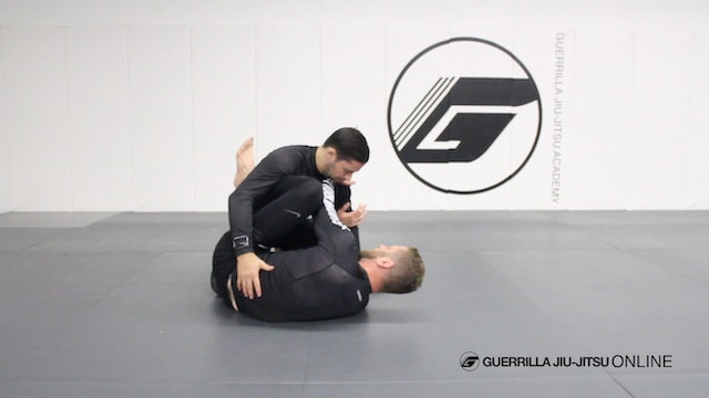 Half Guard Knee Shield - Arm Drag to the Wrist Shackle Breakdown