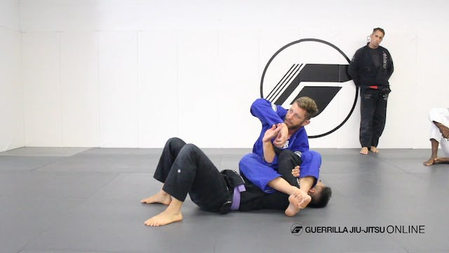 Standard Armlock Position (SAP) - Pit Stop and the Fulcrum Finish