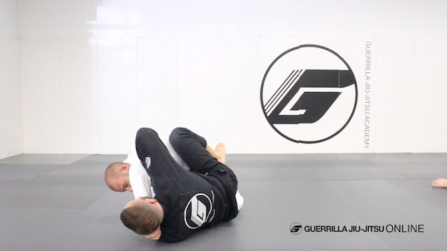 Closed Guard - Sleeve Drag System - Troubleshooting Forearm in Throat