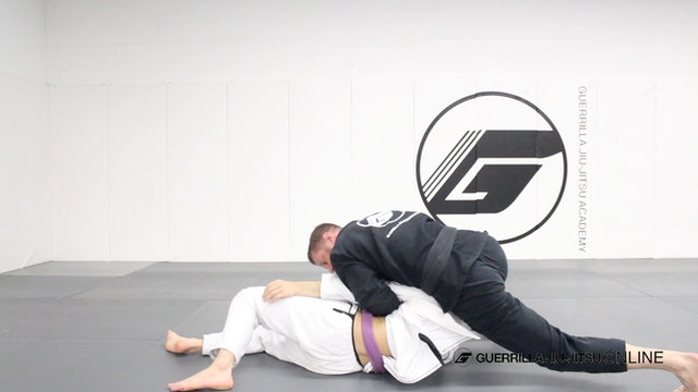 Chopping Block - Over Hook to Kimura