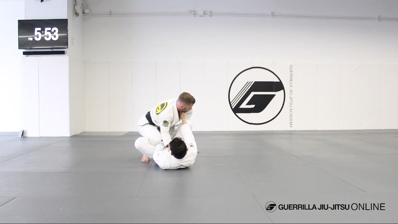 De la Riva Guard Passing