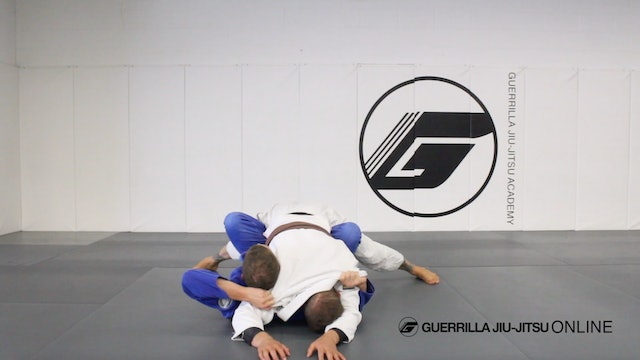 Butterfly Guard Back Take from Mount Escape