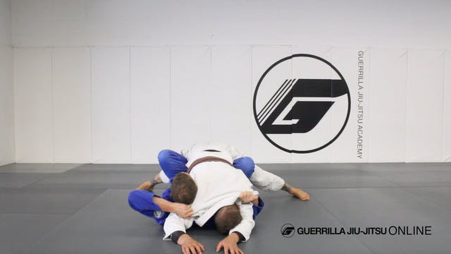 Butterfly Guard Back Take from Mount ...