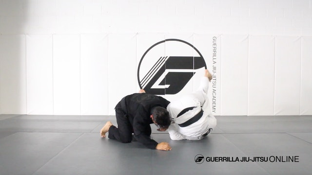 Counter the Single Leg to Omoplata Part 2 - Countering the single in motion