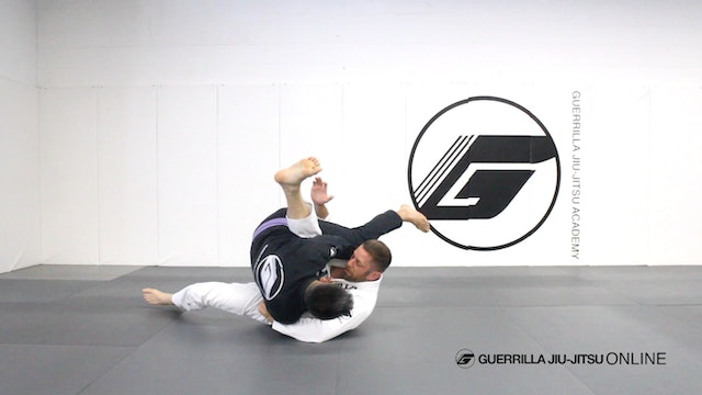 Basic Closed Guard Pull to Pendulum Sweep