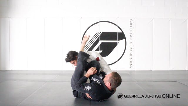 Armlock From Bottom Side Control Part 1