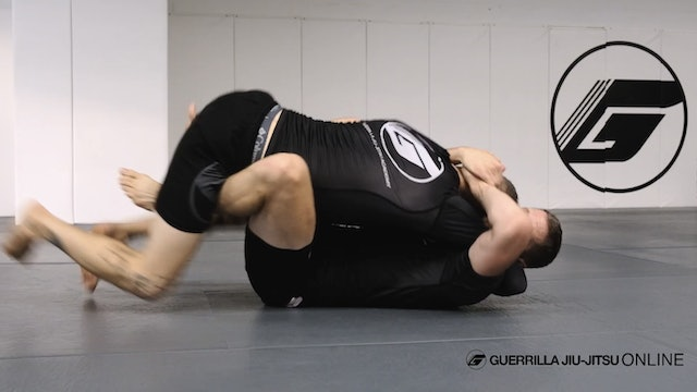 Under Hook Clinch - Part Four - Half Guard to Butterfly Sweep