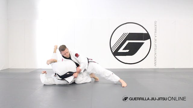 Escape Omoplata to Leg Drag or the Back