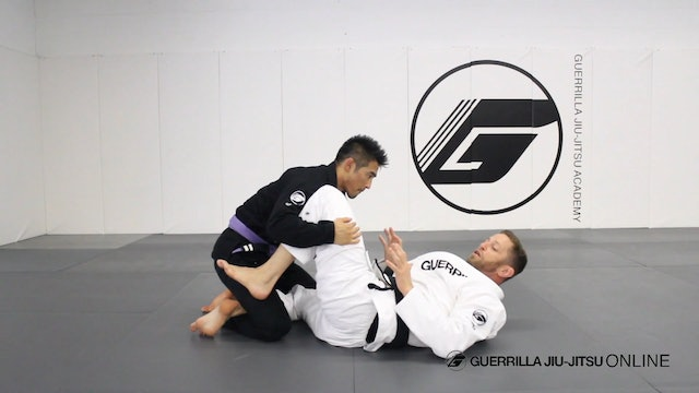 Knee Shield to Bow and Arrow Loop Choke