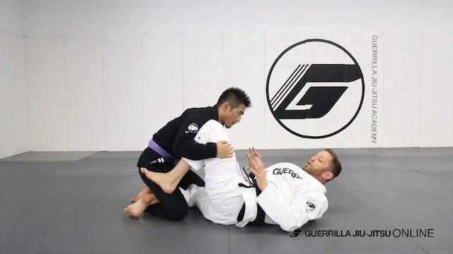 Knee Shield to Bow and Arrow Loop Choke