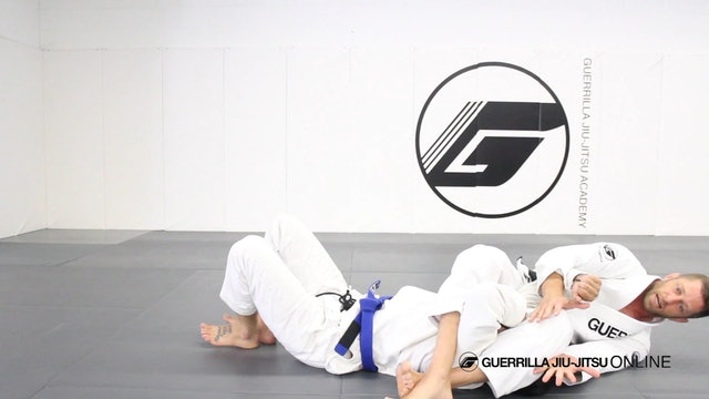 Standard Armlock Position (SAP) - Dead Man Kimura Finish