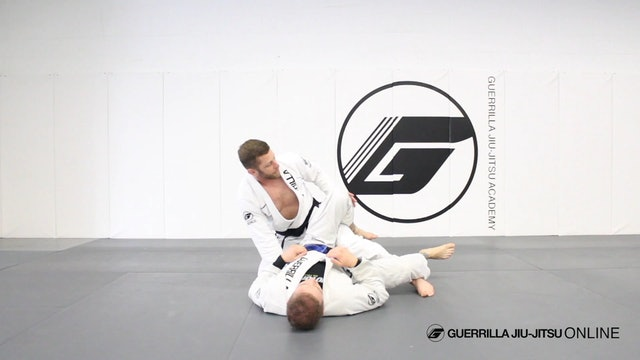 Knee Line Smash Leg Drag Variation