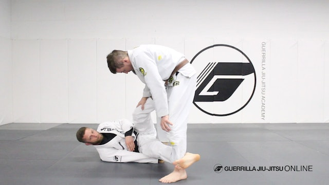Reverse de la Riva Guard - Simple Sweeps Part 1.5 - Mid Range