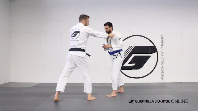 Judo Gripping - Basic Gripping Pattern