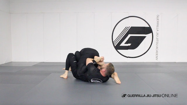 Counter the Single Leg to a Toe Hold from Omoplata