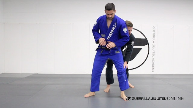 Essential Takedowns - Sacrifice Trip From the Back
