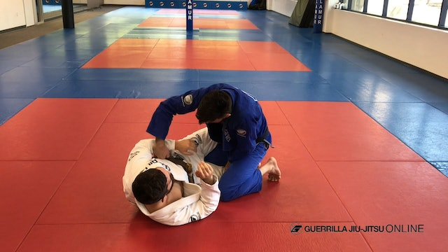 Half Guard Fundamentals - Middle Pass