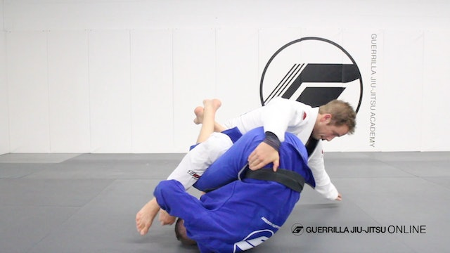 Q&A - G Roll Back Take from Half Guard Hip Clamp Sweep.