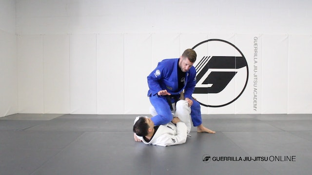 Long Step Pass the X-Guard