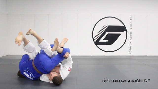Half Guard - Counter the Right Pass Part 4 - Back Roll Sweep