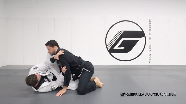 Half Guard - Knee Shield Recovery Drill