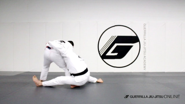 Counter Cross Grip with Tani Otoshi Variation